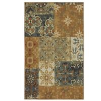 Mohawk Home Harmonic Patch 5-Foot x 7-Foot Multicolor Area Rug