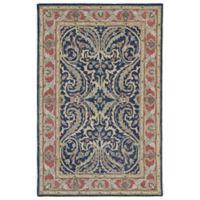 Kaleen Solomon Tyre 8-Foot x 10-Foot Area Rug in Blue