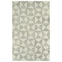 Kaleen Evanesce Graphics 3-Foot 6-Inch x 5-Foot 6-Inch Area Rug in Ivory