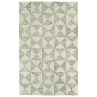 Kaleen Evanesce Graphics 5-Foot x 7-Foot 9-Inch Area Rug in Ivory