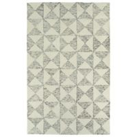 Kaleen Evanesce Graphics 8-Foot x 10-Foot Area Rug in Ivory