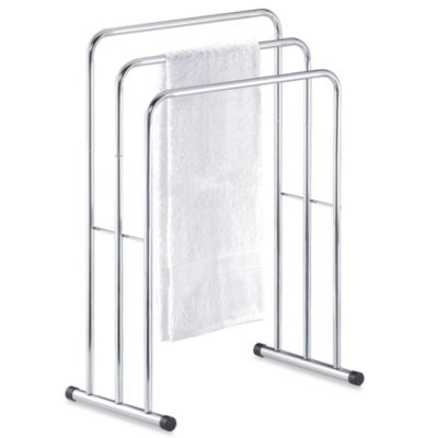 Three Tier Free Standing Towel Stand Valet. Buy Standing Valet from Bed Bath   Beyond