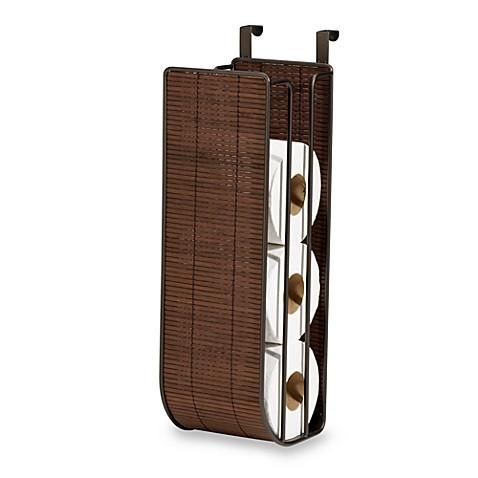 Interdesign® Formbu Espresso Bamboo Over-The-Tank Toilet Tissue ...