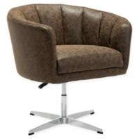 Zuo® Wilshire Occasional Chair in Coffee