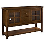 Forest Gate Wood Console Table/Buffet in Walnut
