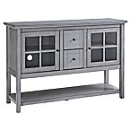 Forest Gate Wood Console Table/Buffet in Antique Grey
