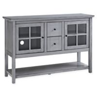 """Forest Gate 52"""" Jackson Farmhouse Wood Console Buffet TV Stand in Antique Grey"""