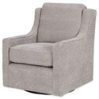 Madison Park Harris Swivel Chair in Grey