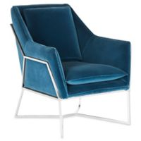 Safavieh Couture Evrex Club Chair in Royal