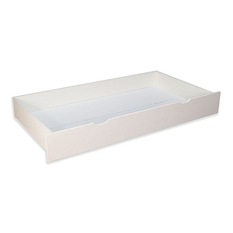 NUIu0026KIDS Trundle Storage Drawer In White