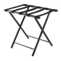 Winsome Trading Tavin Luggage Rack in Antique Bronze
