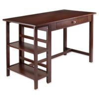 Winsome Trading Velda Writing Desk in Walnut