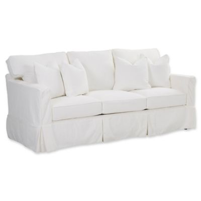 Klaussner® Furniture Jeffrey Queen Sleeper Sofa In White