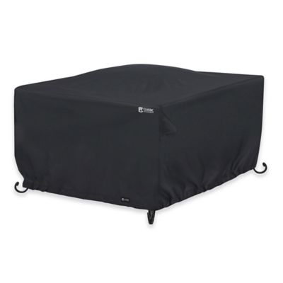 Classic Accessories® 42 Inch Square Fire Pit Cover In Black Part 73