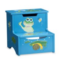 Teamson Froggy Step Stool with Storage