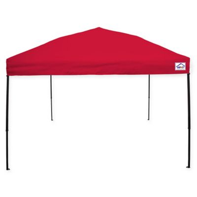 impact canopy 10foot x 10foot ez up instant canopy in red - Outdoor Canopies