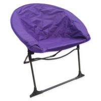 Luna Outdoor Folding Chair in Purple