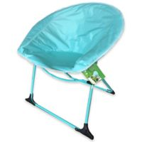 Luna Outdoor Folding Chair in Light Blue