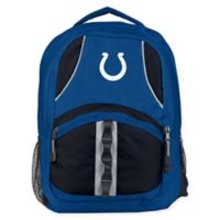 NFL Indianapolis Colts Captain Backpack in Royal Blue/Black