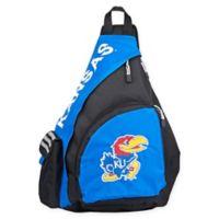 University of Kansas Leadoff Sling Backpack