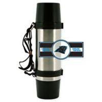 NFL Carolina Panthers Super Thermo Stainless Steel 36 oz. Travel Mug