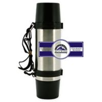 MLB Colorado Rockies Super Thermo Stainless Steel 36 oz.Travel Mug