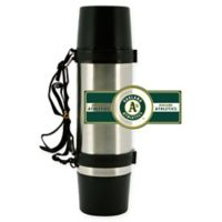 MLB Oakland Athletics Super Thermo Stainless Steel 36 oz.Travel Mug