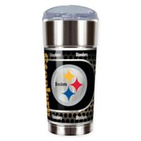 NFL Pittsburgh Steelers 24 oz. Vacuum Insulated Stainless Steel EAGLE Party Cup