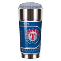 MLB Texas Rangers 24 oz. Vacuum Insulated Stainless Steel EAGLE Party Cup