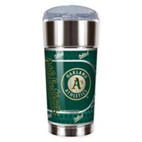 MLB Oakland Athletics 24 oz. Vacuum Insulated Stainless Steel EAGLE Party Cup
