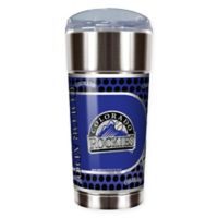 MLB Colorado Rockies 24 oz. Vacuum Insulated Stainless Steel EAGLE Party Cup