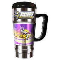 NFL Minnesota Vikings 20 oz. Vacuum Insulated Travel Mug