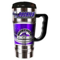 MLB Colorado Rockies 20 oz. Vacuum Insulated Travel Mug