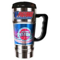 NBA Detroit Pistons 20 oz. Vacuum Insulated Travel Mug