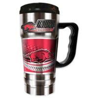 University of Arkansas 20 oz. Vacuum Insulated Travel Mug