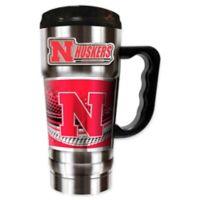 University of Nebraska 20 oz. Vacuum Insulated Travel Mug