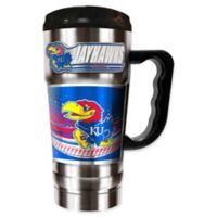 University of Kansas 20 oz. Vacuum Insulated Travel Mug