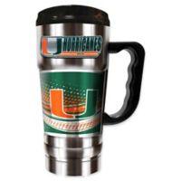 University of Miami 20 oz. Vacuum Insulated Travel Mug