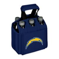 NFL Los Angeles Chargers 6-Pack Beverage Carrier in Navy