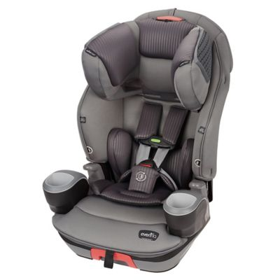 Evenflo® SafeMax™ 3-in-1 Booster Car Seat with SensorSafe Technology in Charcoal Fizz
