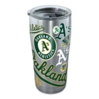 Tervis® MLB Oakland A's All Over 20 oz. Stainless Steel Tumbler with Lid