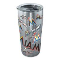 Tervis® MLB Miami Marlins All Over 20 oz. Stainless Steel Tumbler with Lid