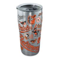 Tervis® MLB Baltimore Orioles All Over 20 oz. Stainless Steel Tumbler with Lid