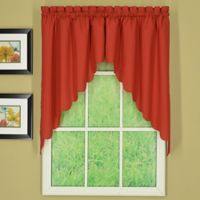 Today's Curtain® Orleans 60-Inch x 38-Inch Swag in Red