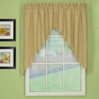 Today's Curtain® Orleans 60-Inch x 38-Inch Swag in Linen