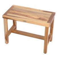 EcoDecors® EarthyTeak™ Classic 24-Inch Teak Bench