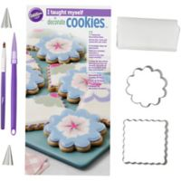 "Wilton® 19-Piece ""I Taught Myself to Decorate Cookies"" Book Set"