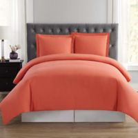 Truly Soft Everyday XL Twin Duvet Cover Set in Orange