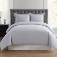 Truly Soft Everyday King Duvet Cover Set in Silver Grey