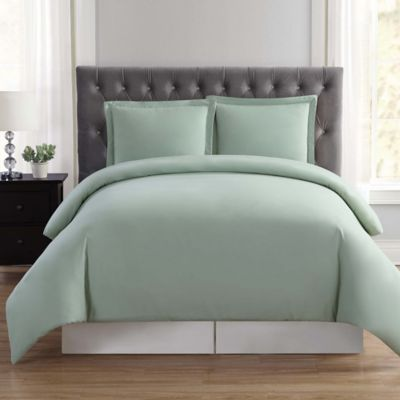 Marvelous Truly Soft Everyday King Duvet Cover Set In Sage